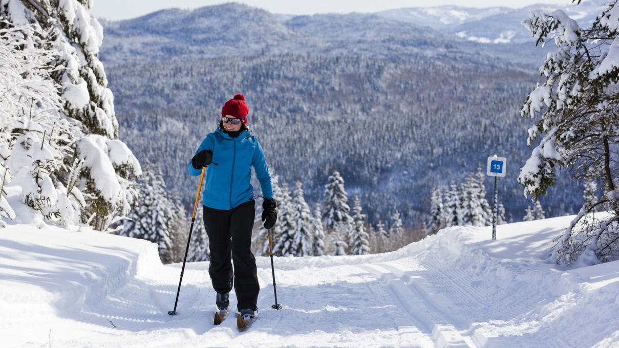 Cross-Country skiing at Camp Mercier