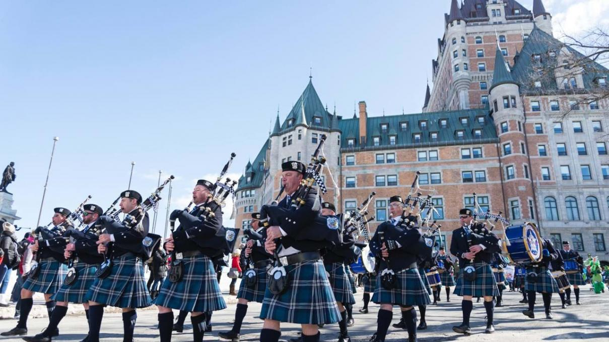 St. Patrick's Parade in Quebec City