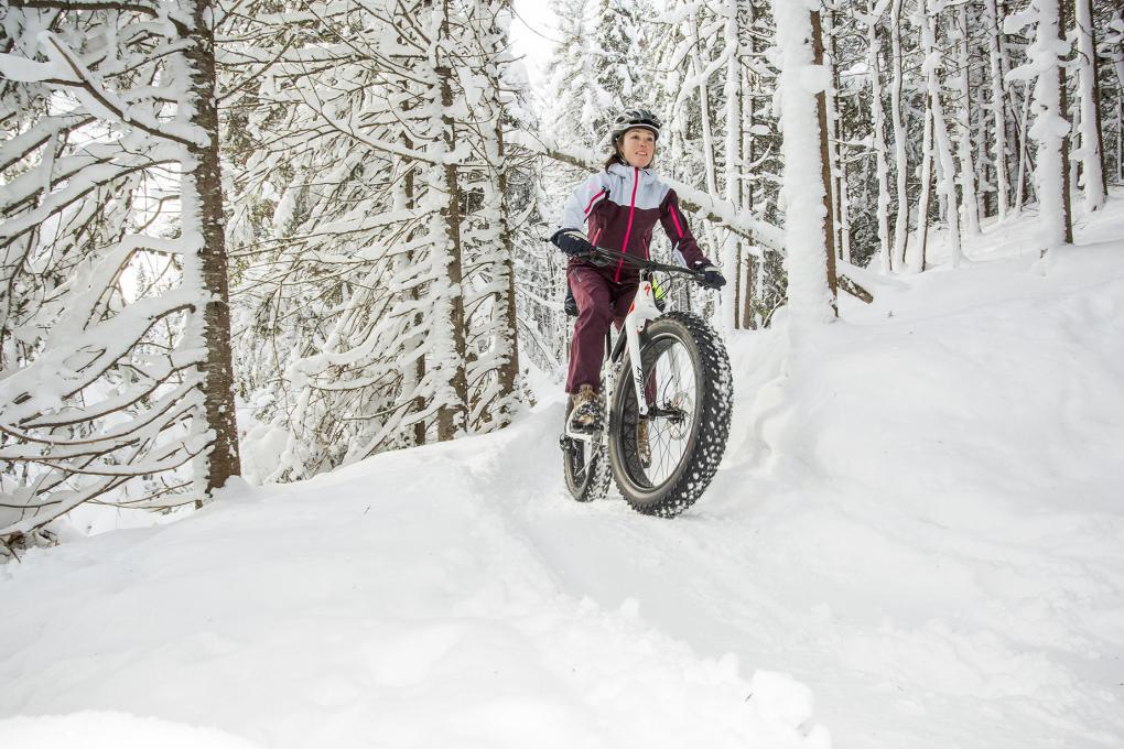 Fatbike at Sentiers du Moulin