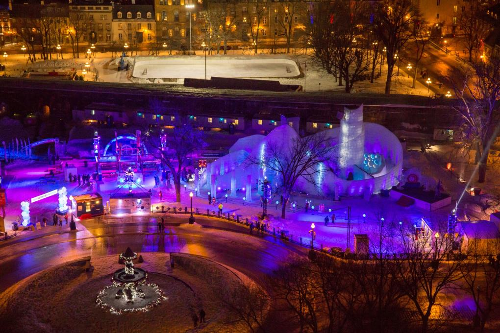Bonhomme's Carnaval Ice Palace