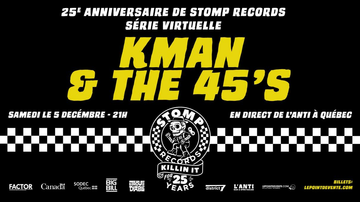 Le groupe ska Kman and the 45's