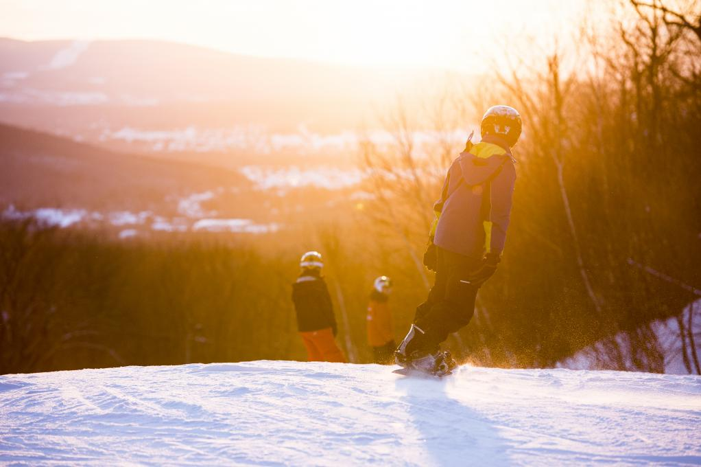 Downhill Skiing and Snowboarding