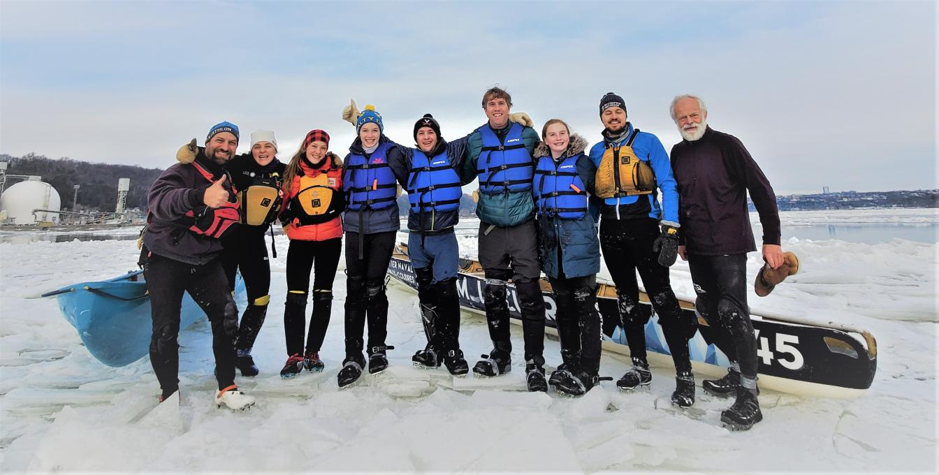 Ice Canoeing Experience - An introduction to ice canoeing with the family