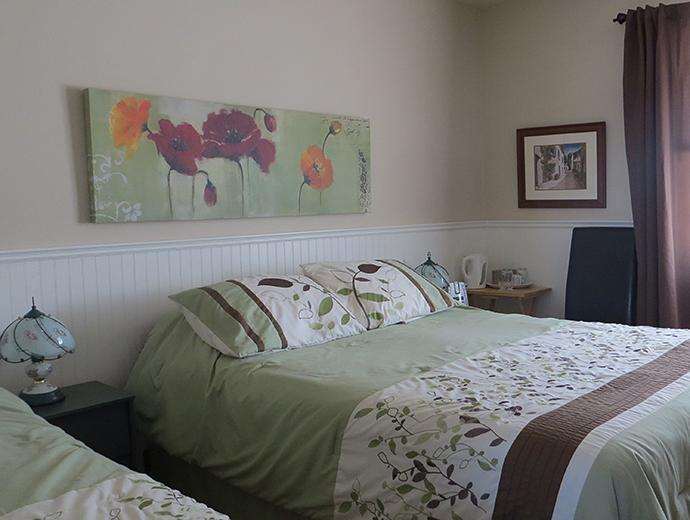 Accommodation - Bed and breakfast - À La Brunante - Room with two beds