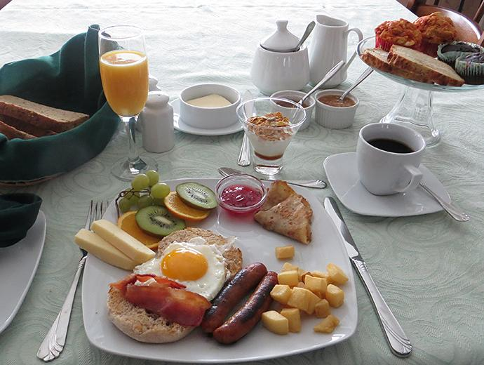 Accommodation - Bed and breakfast - À La Brunante - Breakfast