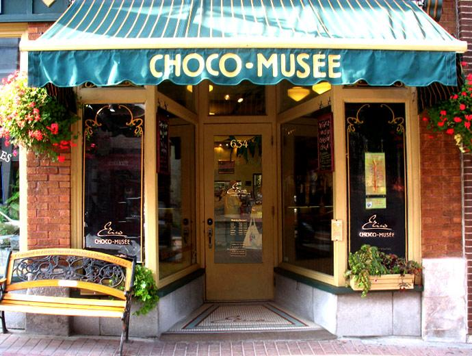 Chocolate Stores and Candy Stores