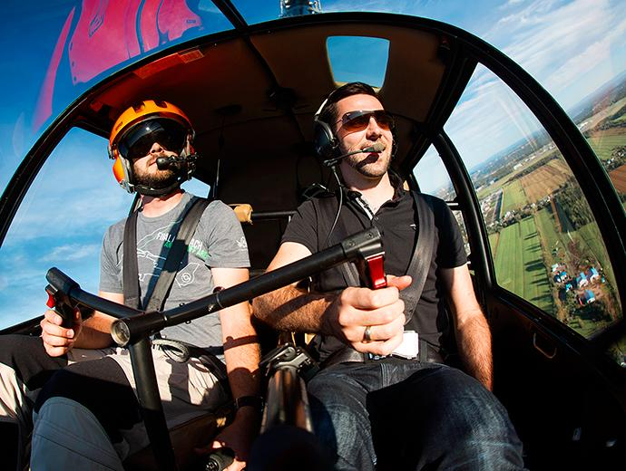 Aerial Tours (Plane, Helicopter, Hot Air Balloon)