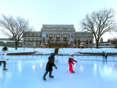 Ice Rink in Quebec City