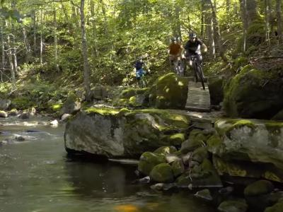 Mountain biking in Québec City