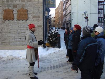 Tour in Old Québec with a traditional character
