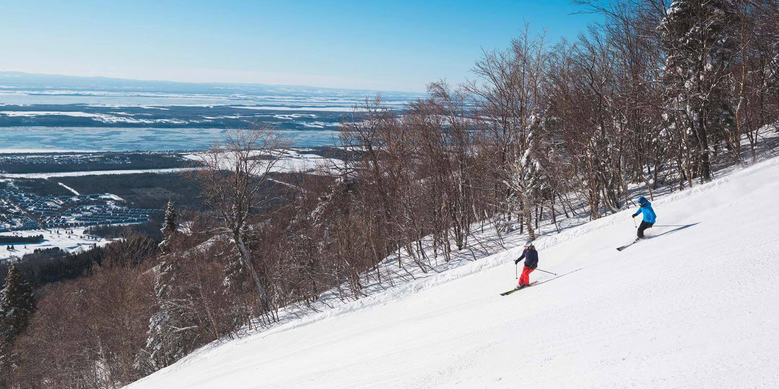 Downhill Skiing at Mont-Sainte-Anne