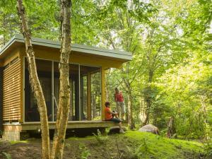 Chalet EXP en pleine nature dans le Parc national de la Jacques-Cartier.