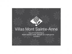 English version logo - Villas Mont Sainte-Anne