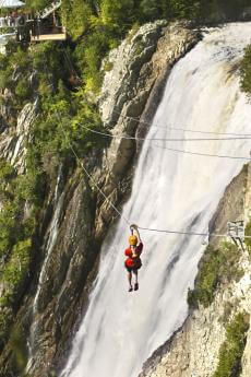 Via ferrata and Zipline
