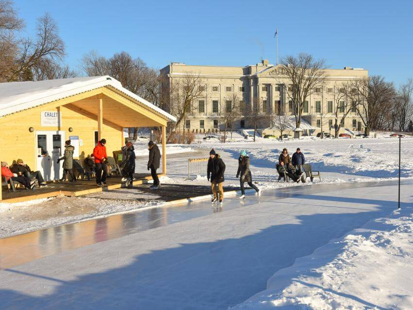 Ice Rink on the Plains of Abraham,