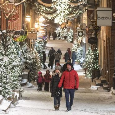 Christmas in Quebec City