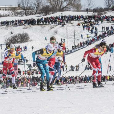 FIS XCountry Skiing World Cup in Quebec City