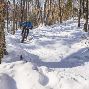 Fat bike Quebec City