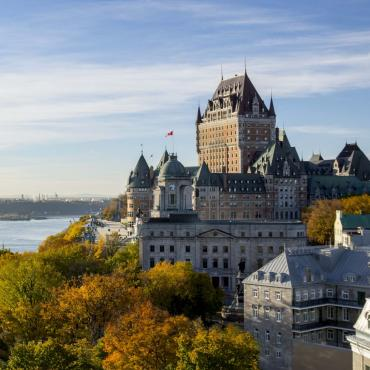 Québec City during fall
