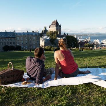 Picnic in Quebec City