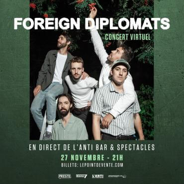 La formation indie rock Foreign Diplomats