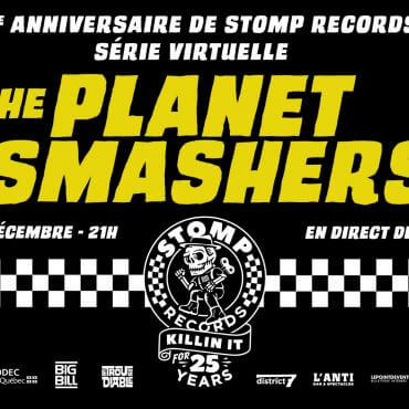 La formation ska punk The Planet Smashers
