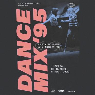 La troupe de danse Studio Party Time présente Dance Mix '95